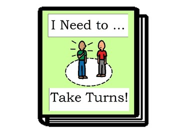 Taking Turns - Social Story Book