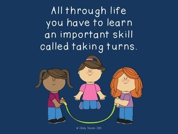 Social Skills Stories: Taking Turns is Important to Learn
