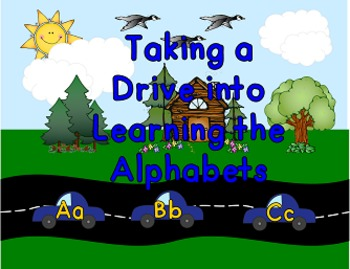 Taking a Drive into Learning the Alphabets