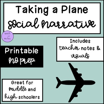 Taking a Plane: A Social Story