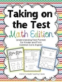 Taking on the Test Math Edition