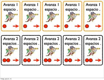 Taking the Common Core home. Spanish Kindergarten Board Games