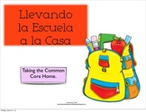 Taking the Common Core home. Spanish Kindergarten Board Games