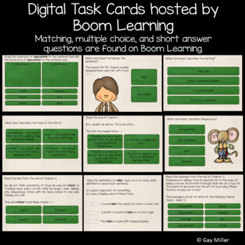 The Tale of Despereaux  Novel Study: Digital + Printable Unit [Kate DiCamillo]