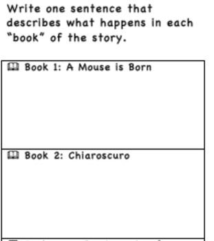 Tale of Despereaux Book Brochure