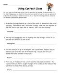 Tale of Despereaux: Context Clues