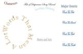 Tale of Despereaux Reading Comprehension Story Board