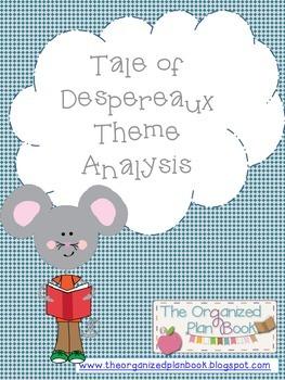 Tale of Despereaux Theme Analysis