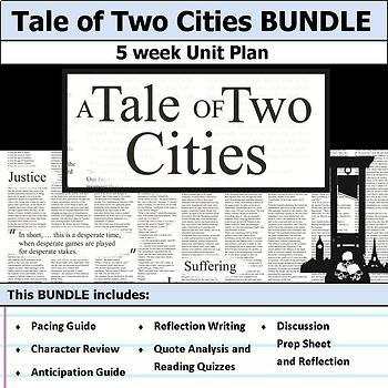 Tale of Two Cities Unit Bundle
