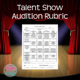 Talent Show Audition Rubric