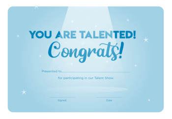 Talent Show Project