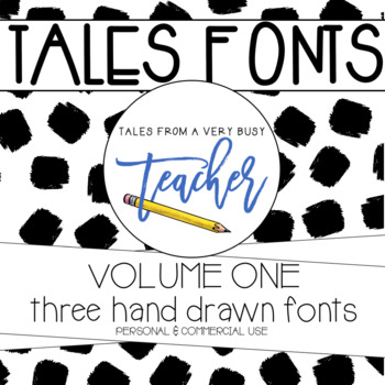 Tales Fonts Volume One