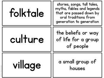 International Folktales: Part One