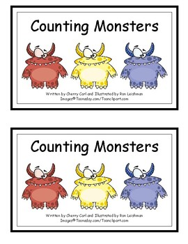 Tales for Tots: Counting Monsters (Distance Learning)
