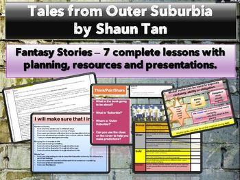 Tales from Outer Suburbia - 7 Complete lessons (Narrative KS2/grade 5)