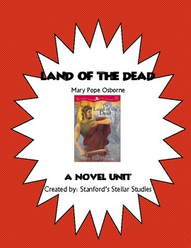 Tales from the Odyssey Book 2: Land of the Dead Novel Study Unit Common Core
