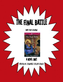 Tales from the Odyssey Book 6: The Final Battle Reading Novel Study Unit