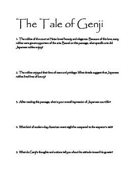 Tales of Genji and Heike