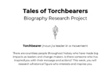 Tales of Torchbearers - Biography research project