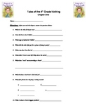 Tales of a 4th Grade Nothing Chapter questions