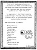 Tales of a 4th Grade Nothing Common Core Companion student question booklet