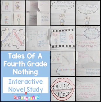 Tales of a 4th Grade Nothing - Judy Blume - Interactive Notebook and Novel Study