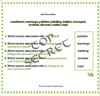 Tales of a 4th Grade Nothing Vocabulary Bundle/Common Core Aligned