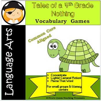 Tales of a 4th Grade Nothing: Vocabulary Games/Common Core