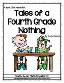Tales of a 4th Grade Nothing, by Judy Blume: A Bookclub Packet