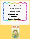 Tales of a 4th Grade Nothing by Judy Blume Comprehension Unit