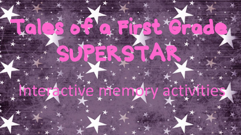 Tales of a First Grade SuperStar Interactive Memory Activity