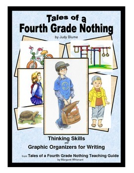 Tales of a Fourth Grade Nothing Thinking Skills and Graphic Organizers