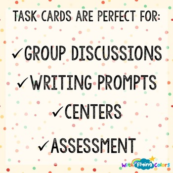 Tales of a Fourth Grade Nothing Activity Cards