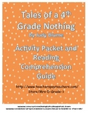 Tales of a Fourth Grade Nothing Activity Guide