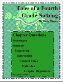 Tales of a Fourth Grade Nothing Chapter Questions and STAAR Prep