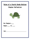 Tales of a Fourth Grade Nothing Chapter Reflection