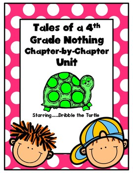 Tales of a Fourth Grade Nothing Novel Unit & Craftivity