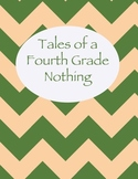 Tales of a Fourth Grade Nothing Chevron Binder Cover