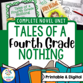 Tales of a Fourth Grade Nothing | Google Classroom Compatible| Distance Learning