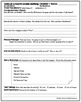 Tales of a Fourth Grade Nothing Comprehension Packet