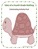 Tales of a Fourth Grade Nothing Culminating Activity pack