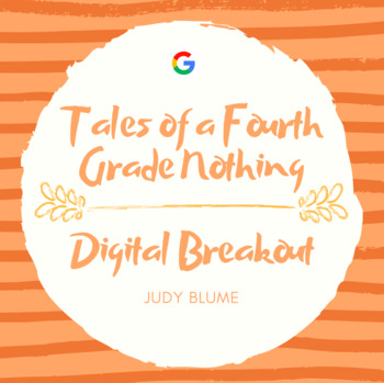 Tales of a Fourth Grade Nothing Digital Breakout Escape Room