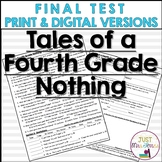Tales of a Fourth Grade Nothing Final Test