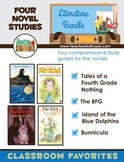Tales of a Fourth Grade Nothing, The BFG, Bunnicula, Island of the Blue Dolphins