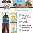 Tales of a Fourth Grade Nothing, The BFG, Bunnicula, Islan