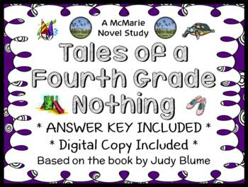 Tales of a Fourth Grade Nothing (Judy Blume) Novel Study /