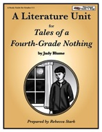 Tales of a Fourth Grade Nothing Lit. Unit