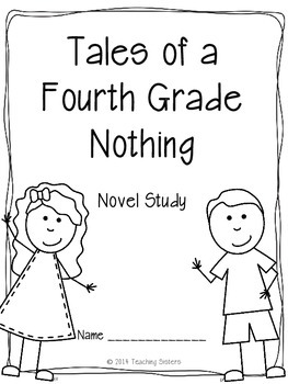 Tales of a Fourth Grade Nothing Literature Unit