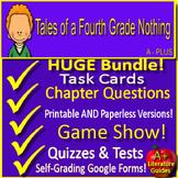 Tales of a Fourth Grade Nothing NOVEL STUDY Unit BUNDLE Pr