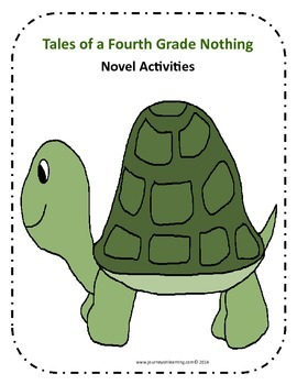 Tales of a Fourth Grade Nothing Novel Activities